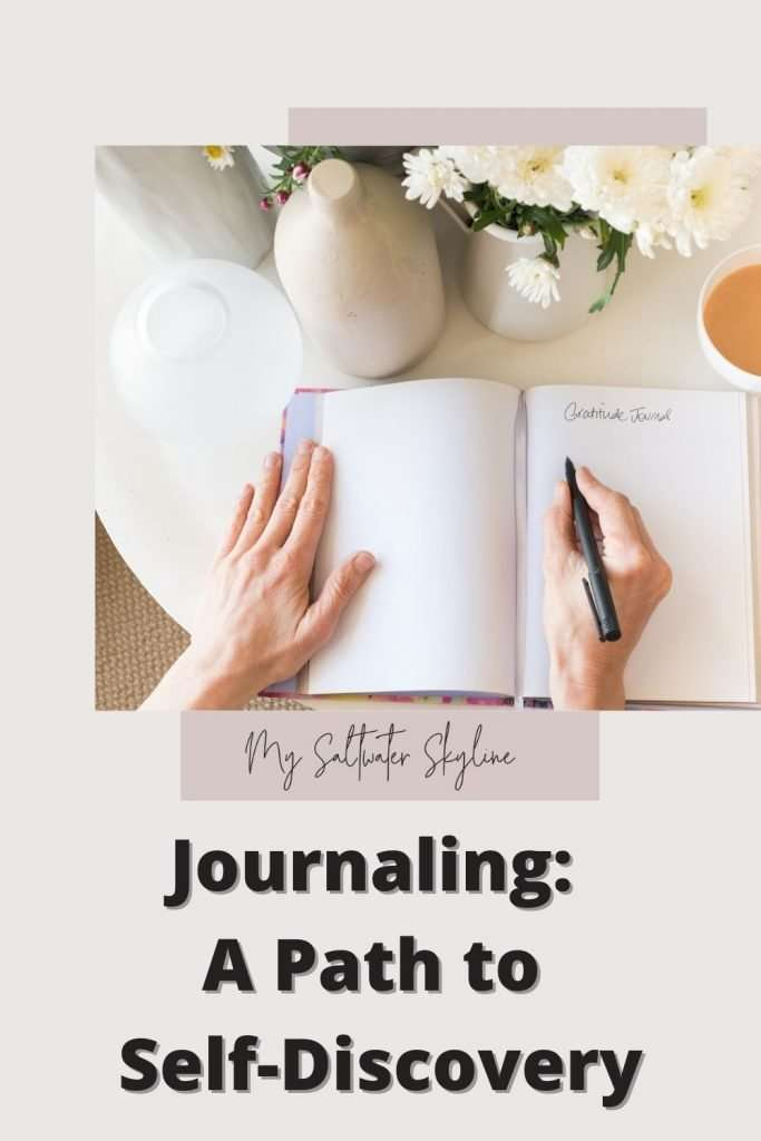 view-from-top-woman-writing-in-journal-journaling-a-path-to-self-discovery-blog-post